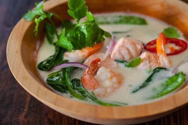 Thai fish soup steamy kitchen recipes for Fish broth soup