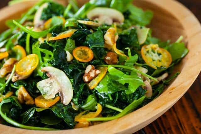 Kale Kumquat Salad Recipe