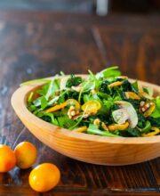 Kale Kumquat Salad Recipe