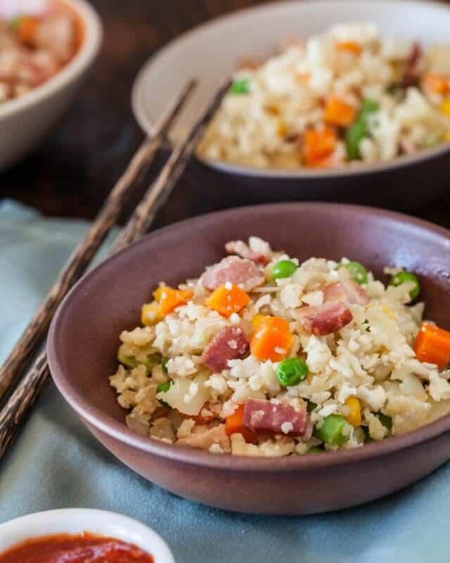 Cauliflower Fried Rice Paleo Recipe