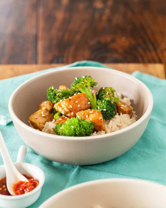 Healthy General Tso's Chicken Recipe