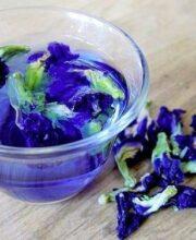 BlueChai Hot Tea - Dried Butterfly Pea Flowers
