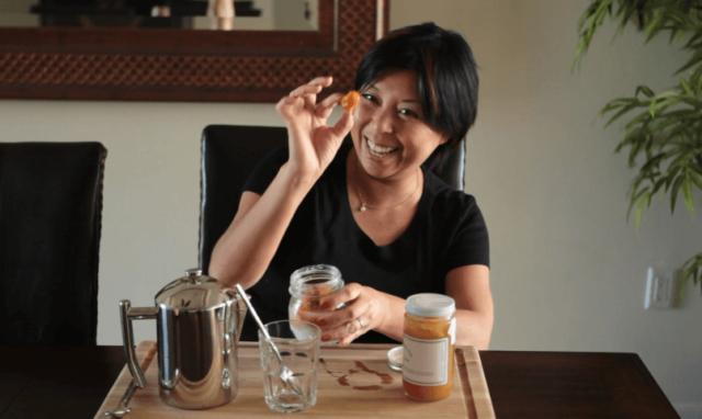 jaden holding salted kumquat