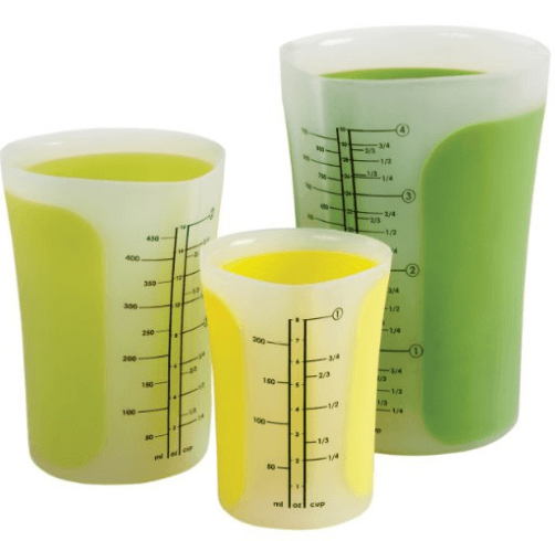 Chef'n SleekStor Pinch with Pour Measuring Beakers, 3-Piece