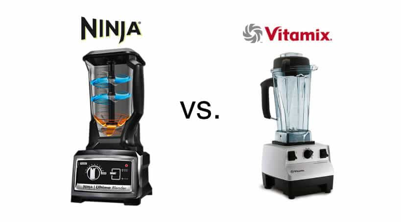 review: ninja ultima pro blender vs. vitamix blender - steamy