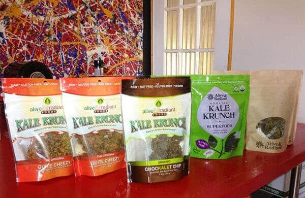 Giveaway: Kale Crunch Kale Chips from Alive & Radiant