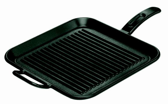 Giveaway: Cast Iron Nation Cookbook and Lodge Cast Iron Grill Pan