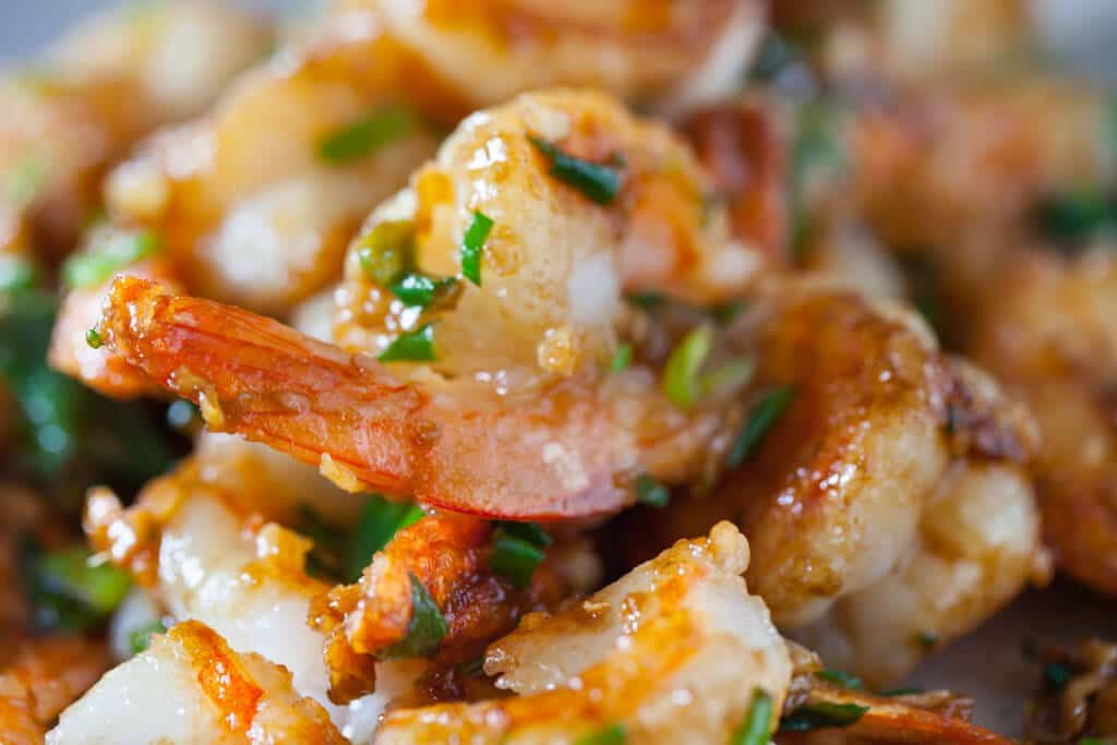 Yummy Garlic Ginger Shrimp Stir Fry Recipe Chinese