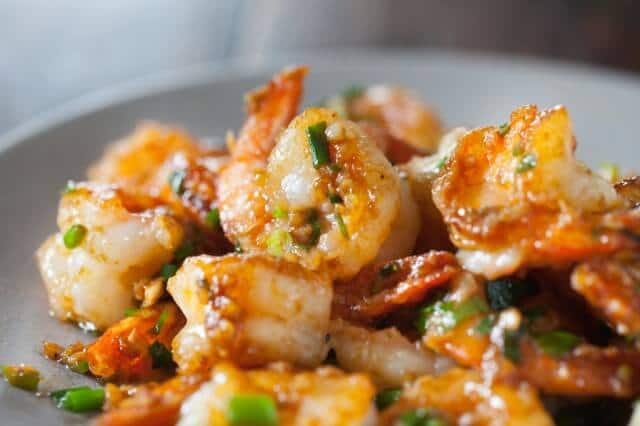 Delicious Garlic Ginger Shrimp Stir Fry Recipe
