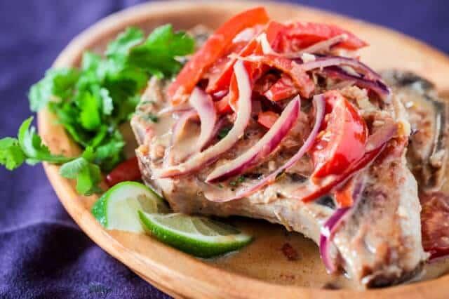 thai pork chops ginger coconut recipe-1250