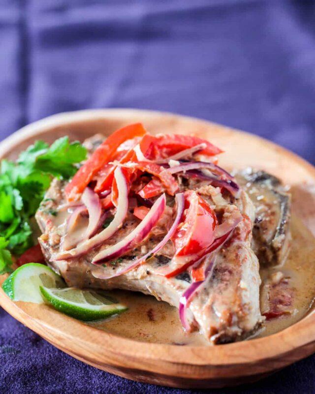 thai pork chops ginger coconut recipe-1259