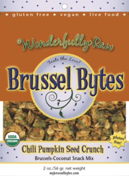 Giveaway: Brussel Bytes and Snip Chips from Wonderfully Raw