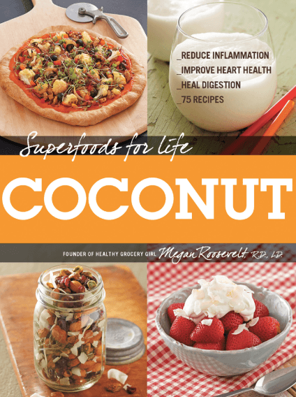 Giveaway: Superfoods for Life, Coconut book by Megan Roosevelt