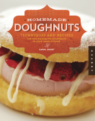 Giveaway: Homemade Doughnuts cookbook by Kamal Grant