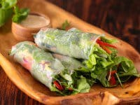 spring rolls with orange almond sauce recipe-1654