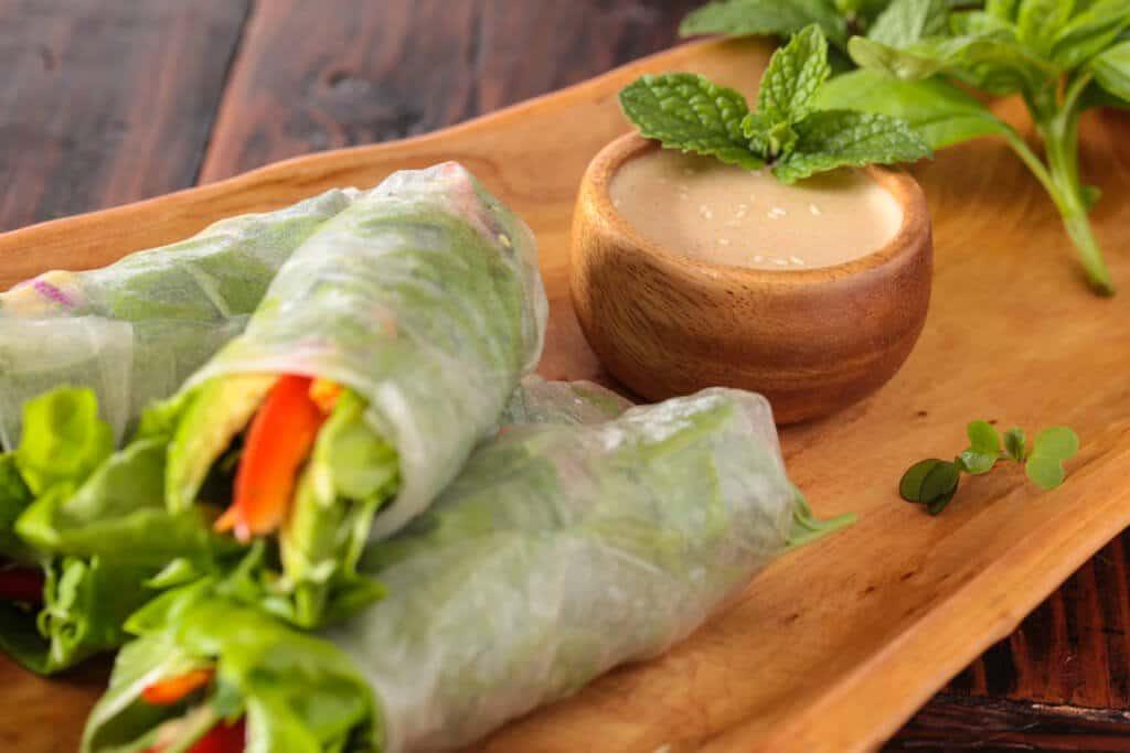 spring rolls with orange almond sauce recipe-1658