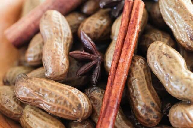 close up of chinese-boiled-peanuts-recipe-2093