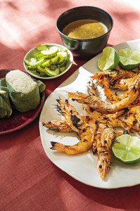 Thai Grilled Shrimp with Black Pepper Sauce Recipe