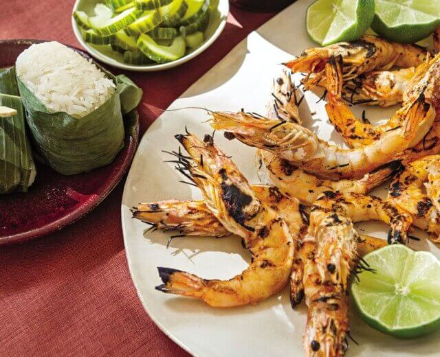 Thai Grilled Shrimp with Black Pepper Sauce Recipe 2