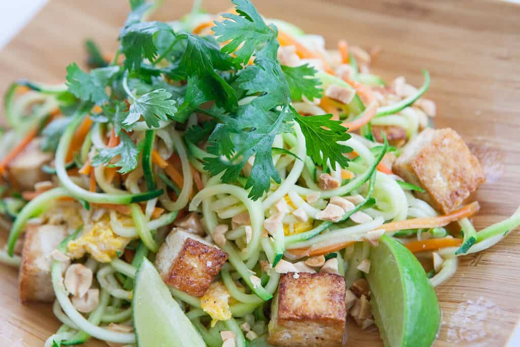 Pad Thai Zoodles Recipe