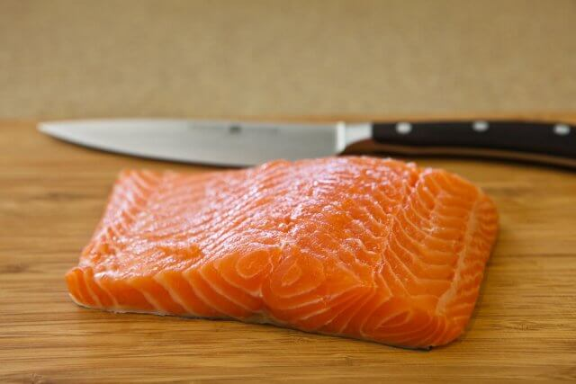 Salmon with Magical Butter Sauce Recipe