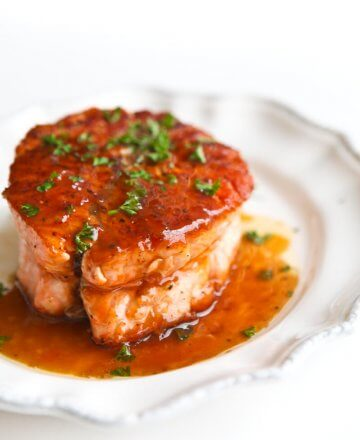 Salmon with Magical Butter Sauce