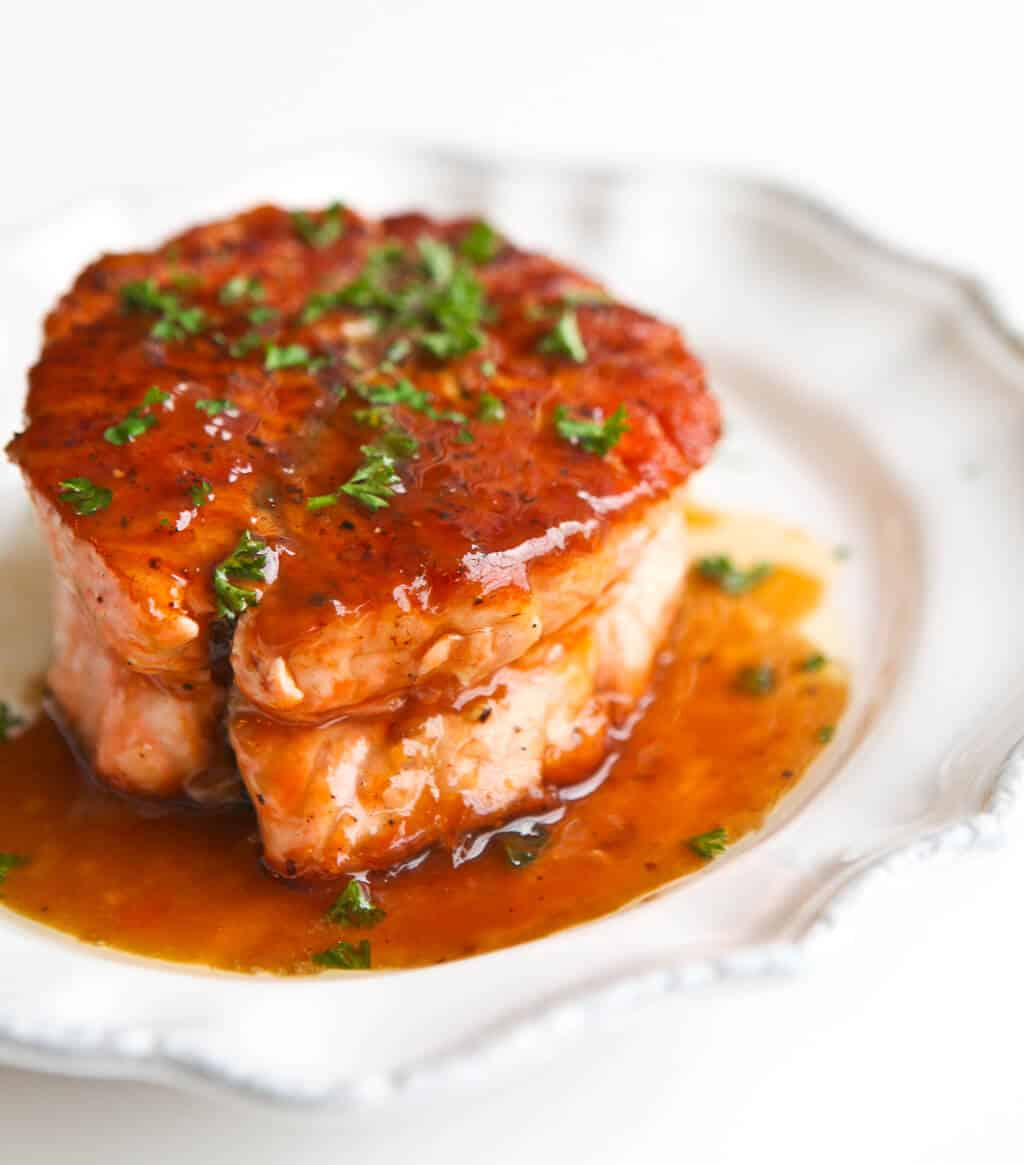 Salmon with magical butter sauce recipe for Marinade for fish