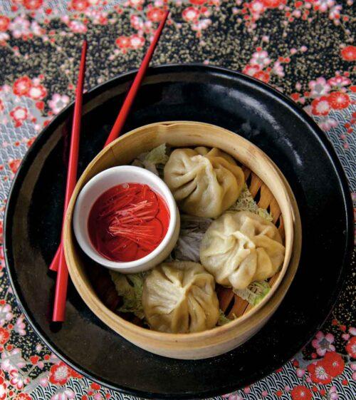 soup dumplings in pot