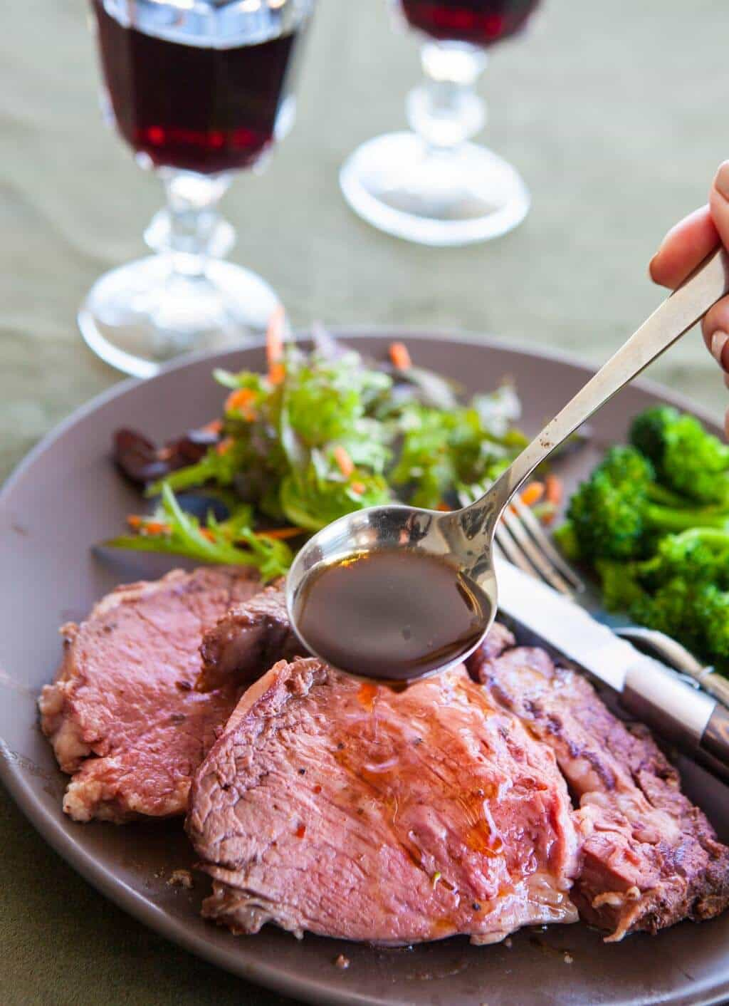 Prime Rib Roast Recipe on the Rotisserie