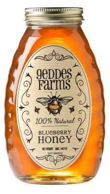 blueberry-honey