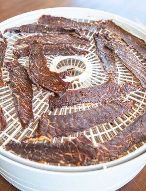 Korean Beef Jerky Recipe - done drying