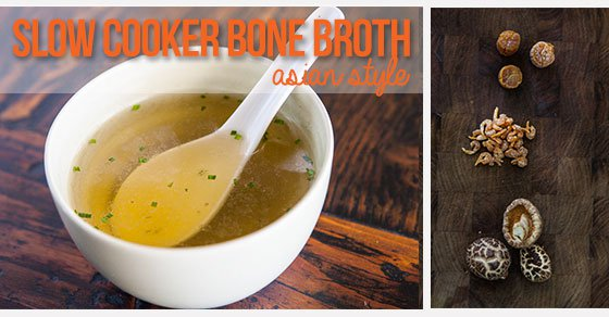 Asian Style Slow Cooker Bone Broth Recipe