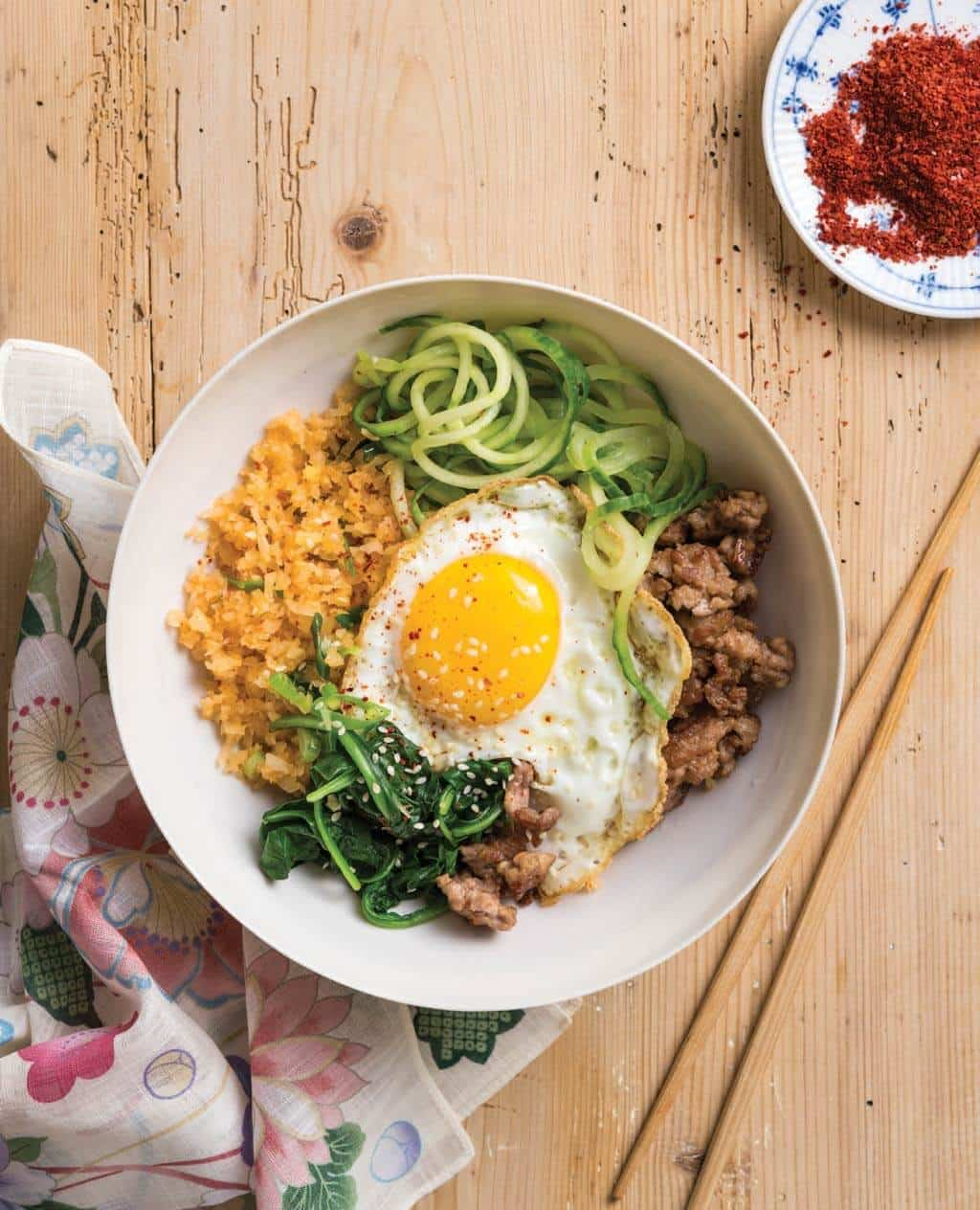 Korean Bibimbap Recipe (Paleo and Low-Carb)