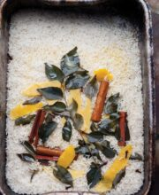 Lemon and Curry Leaf Rice Recipe