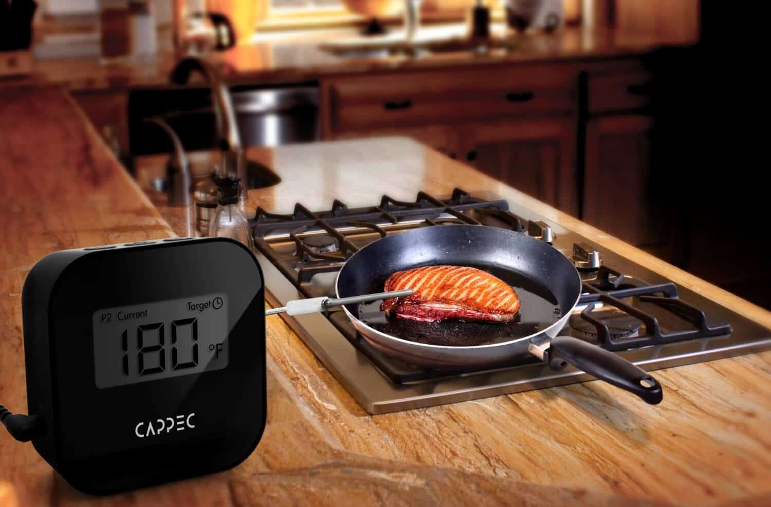 Cappec Bluetooth BBQ Thermometer Review & Giveaway