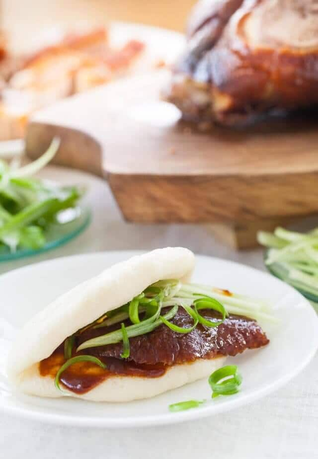 chinese steamed buns recipe roasted duck-4199