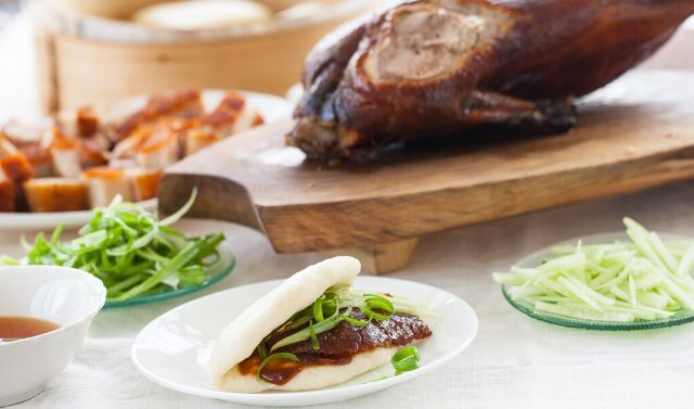 chinese steamed buns recipe roasted duck-4203