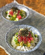 Fresh Tuna Rice Bowl Recipe