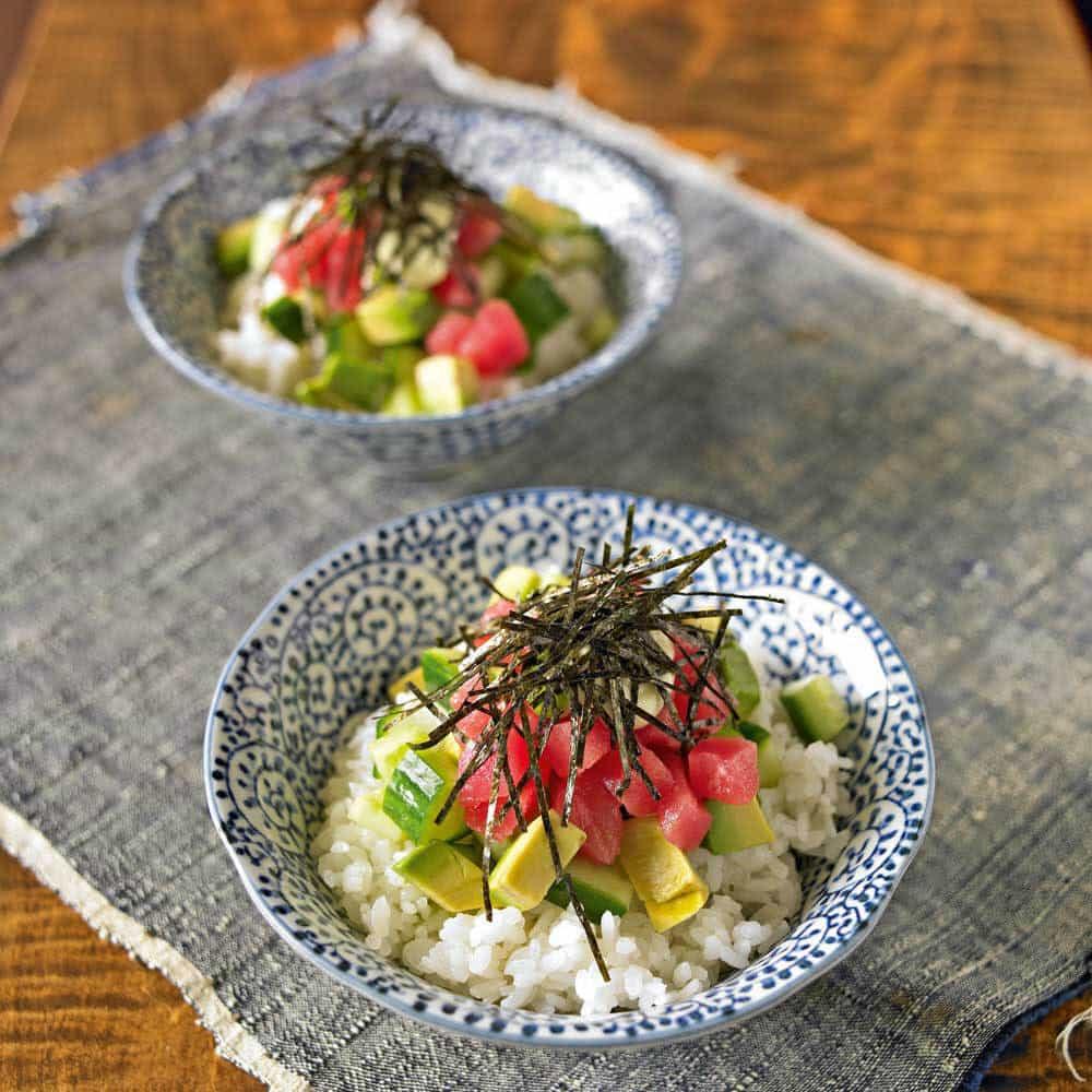 Sushi Rice Bowl (Chirashi-Don) Recipe