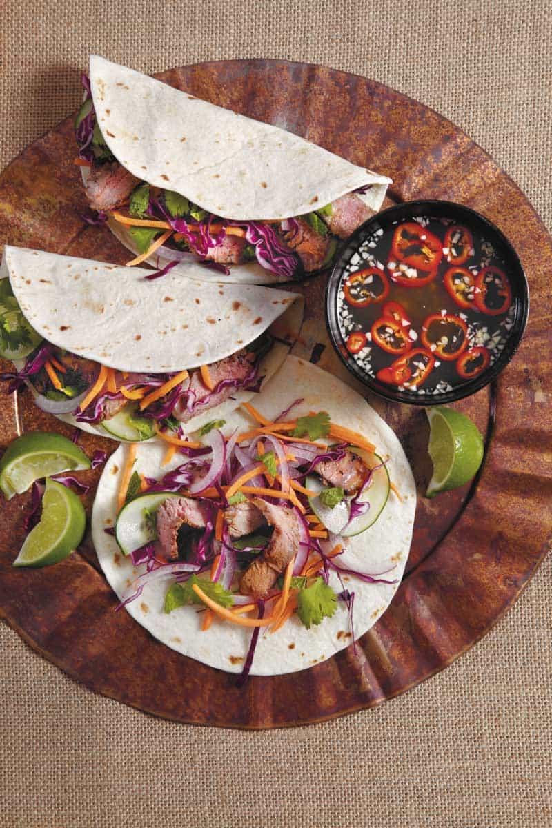 Vietnamese BBQ Tacos Recipe