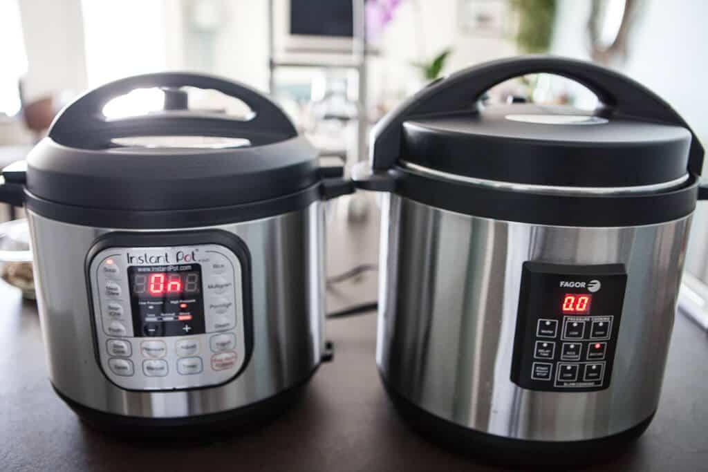 Pressure Cooker Recipe- instant pot vs fagor