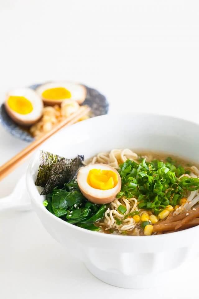 Instant Pot Ramen in bowl