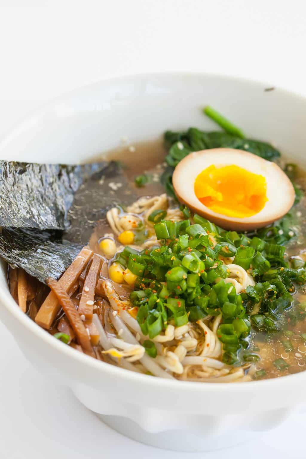Instant Pot Ramen Noodle Soup