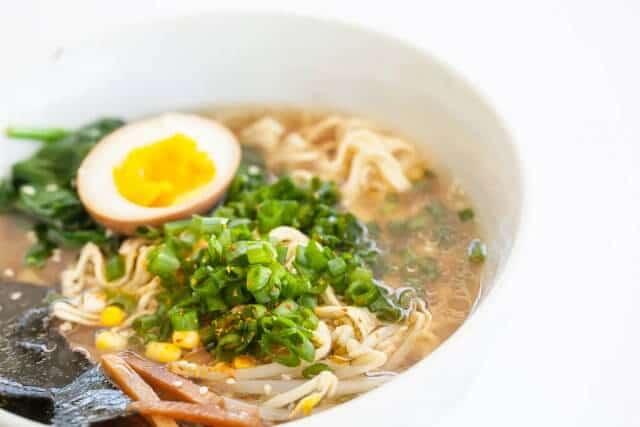 delicious instant pot Ramen Recipe