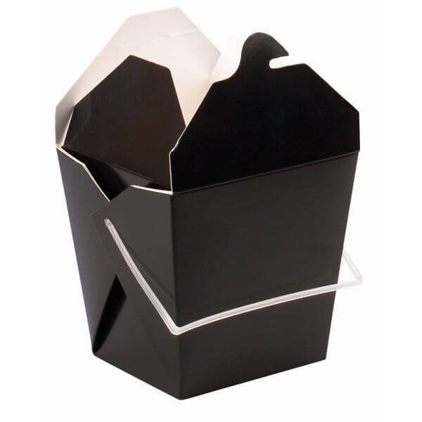 Bio & Chic Black Chinese Take Out Box