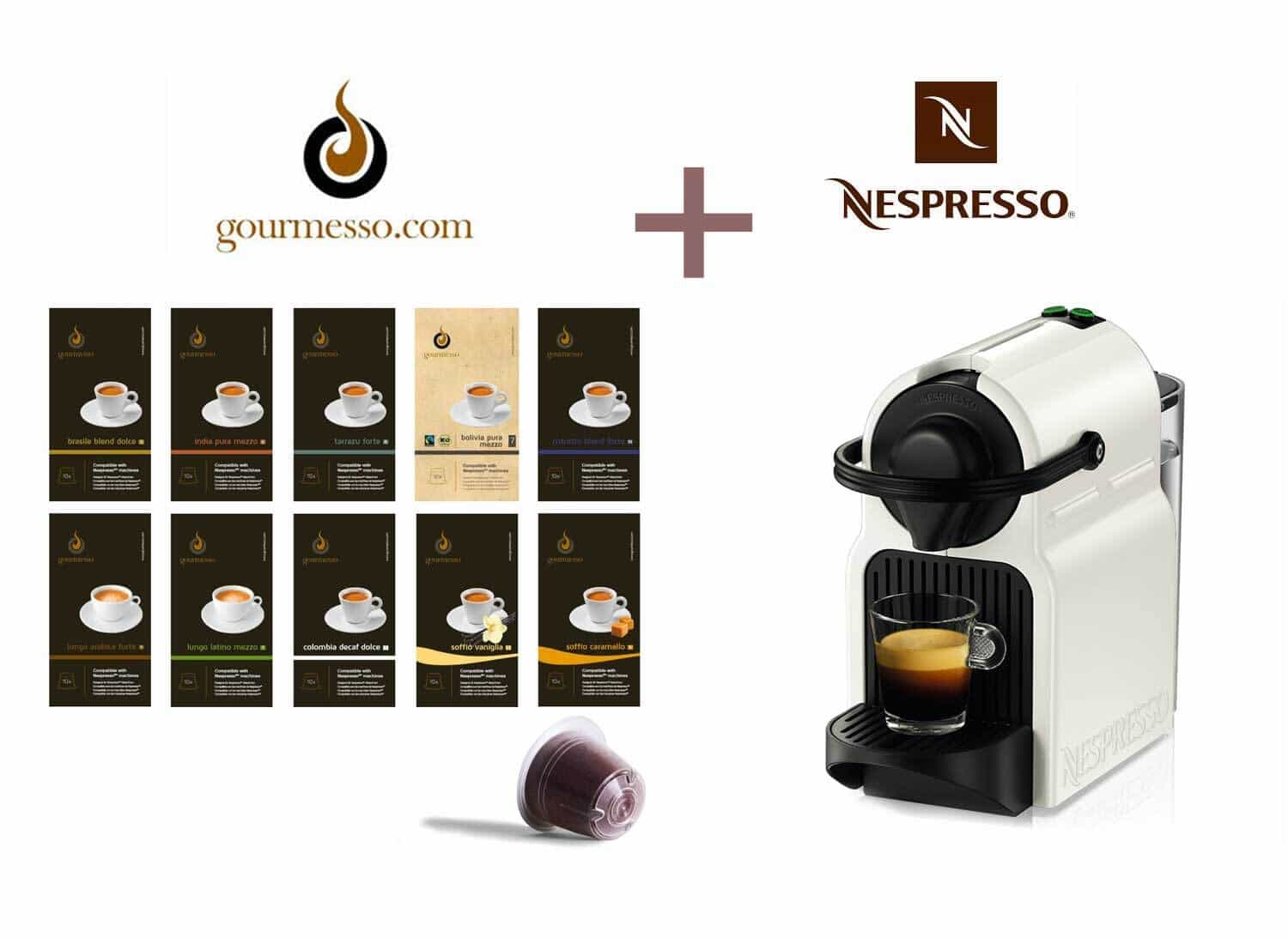 Gourmesso Coffee Review & Nespresso Insissia Giveaway
