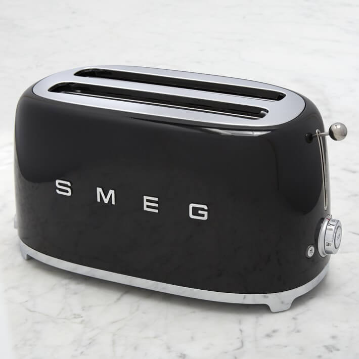 smeg toaster review and giveaway steamy kitchen recipes. Black Bedroom Furniture Sets. Home Design Ideas