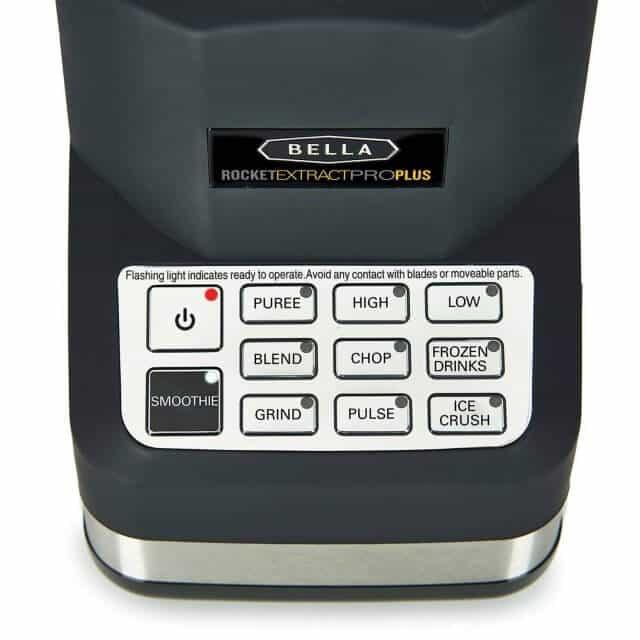 bella 14285 rocket extract pro plus blender review 3