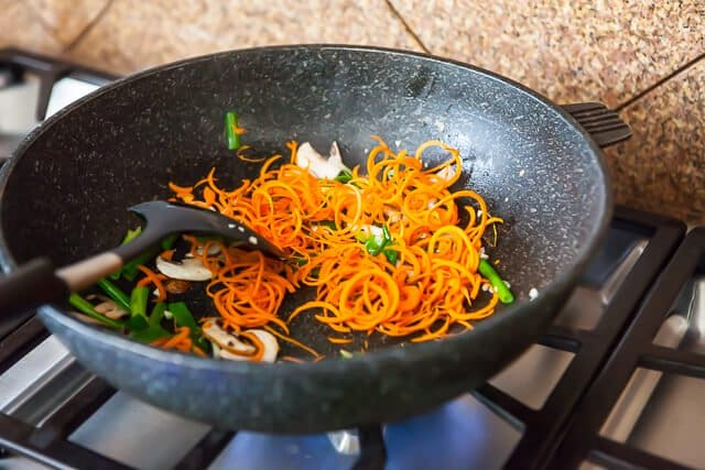 spiralized zucchini noodles japchae korean recipe-5061