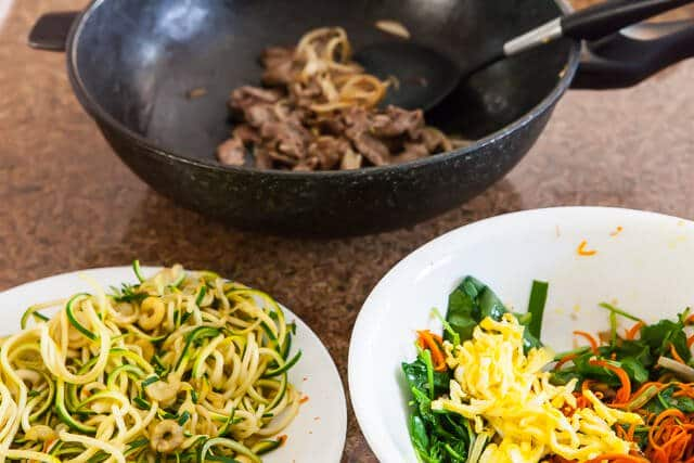 spiralized zucchini noodles japchae korean recipe-5074